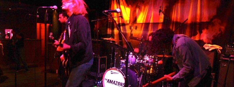 The Amazons @ Ideal Bar 25 sept 2017